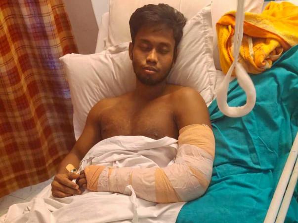 Help Santanu to regain use of his arm