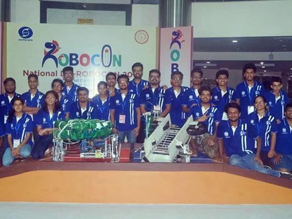 Support Robocon Team Rudra!