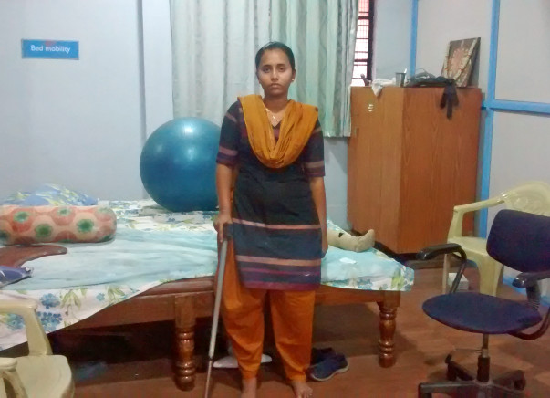 After 4 Spinal Surgeries You Can Help Danamma Walk Again