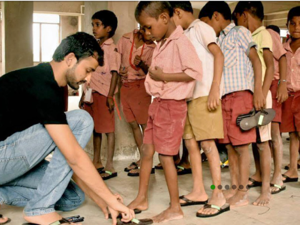 Join Us in Giving Wings To Kids Feet
