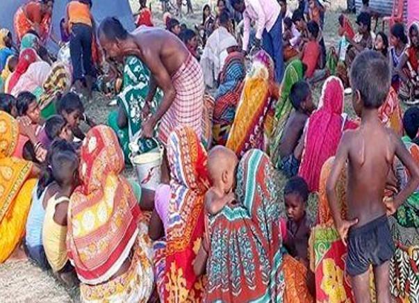 Flood Disaster Relief In Bihar