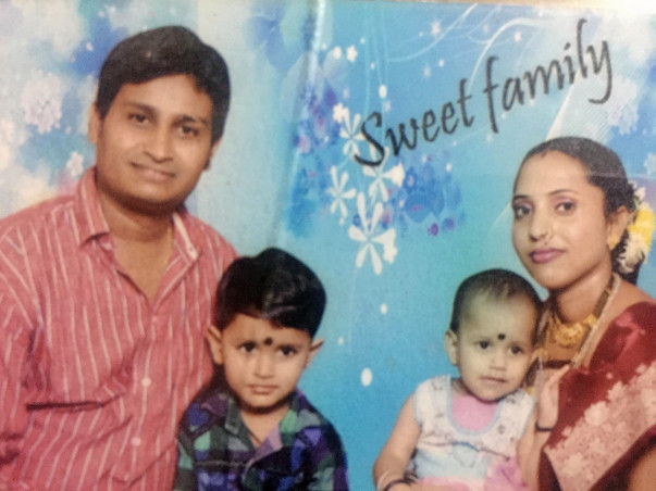 Sunita needs you to help her husband live