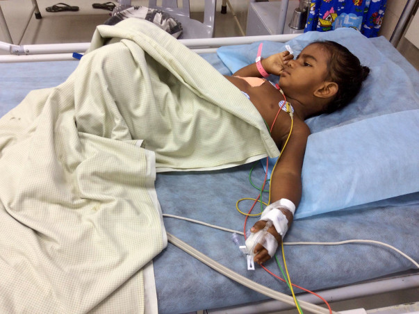 Help Save 2-year-old Baby Girl Fighting A Severe Lung Infection!