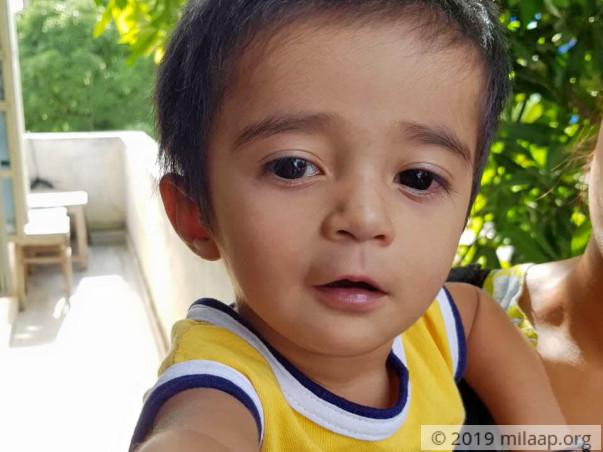 Help Baby Nishanth Fight Congenital Heart Disease