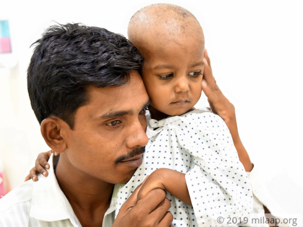 This Farmer Is Struggling To Save His 3-Year-Old Daughter From Cancer