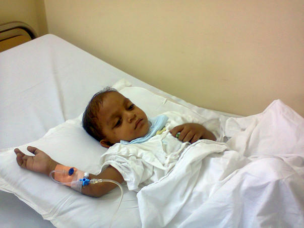 I am fundraising to save 4 year old Harsh from Blood cancer