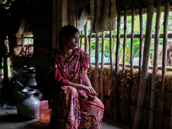 Tiger widows risk life for living, help set up their own business