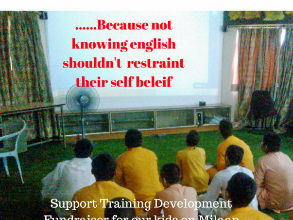 Drop by Drop: Support Training Development for Underprivileged Kids