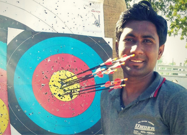 Help Abhishek - India's first teeth archer - to get better equipment