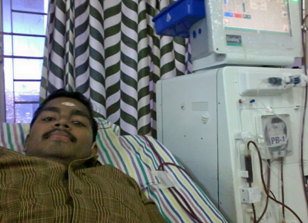 Pradeesh Fundraiser: On Lifelong Hemo Dialysis
