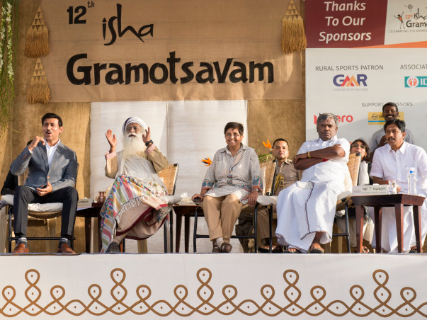 Isha Gramotsavam - A Ball Can Change the World!