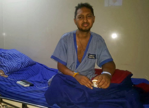 Help Shreyas Balaram For The Treatment Of His Kidney