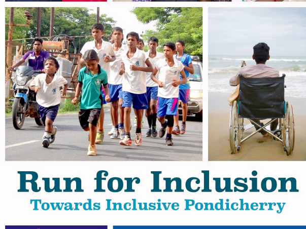 Run for Inclusion towards inclusive Puducherry -