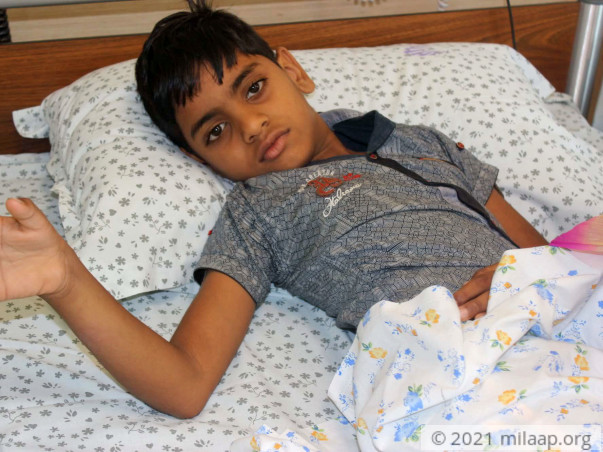 Help Nithin Recover From Hip Dislocation