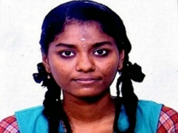 Help Gouthami From A Poor Background For College Admission