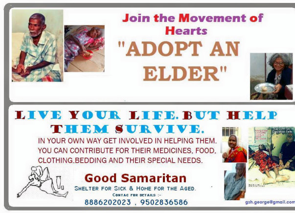 I am pledging my Son birthday to provide basic amenities to homeless elderly people