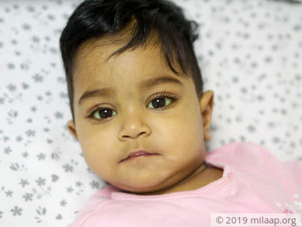 My 1-year-old baby girl is too young to have liver disease