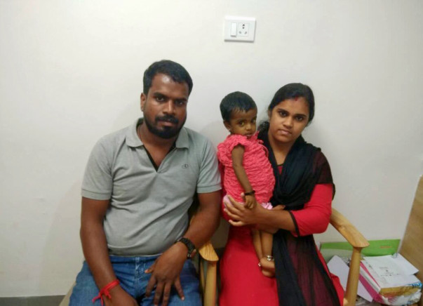 Help baby Abhirami fight a liver disease
