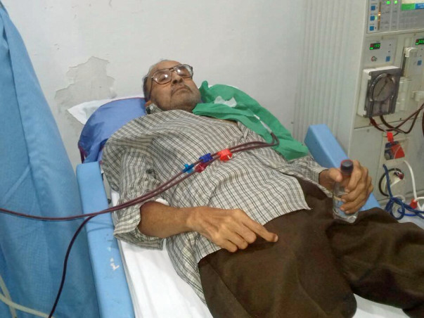 Help him to undergo a kidney transplant