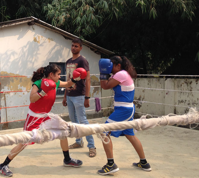 Mona and Priyanka will leave for another national championship this week in Guwahati.