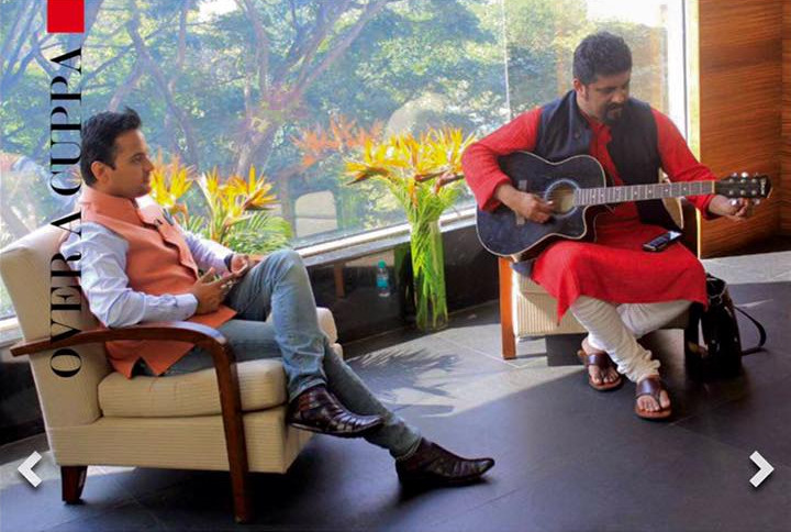 On the show with Raghu Dixit