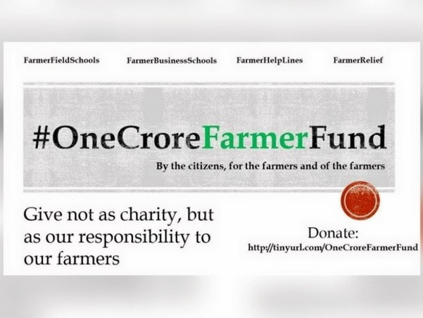One crore fund for farmers   Milaap